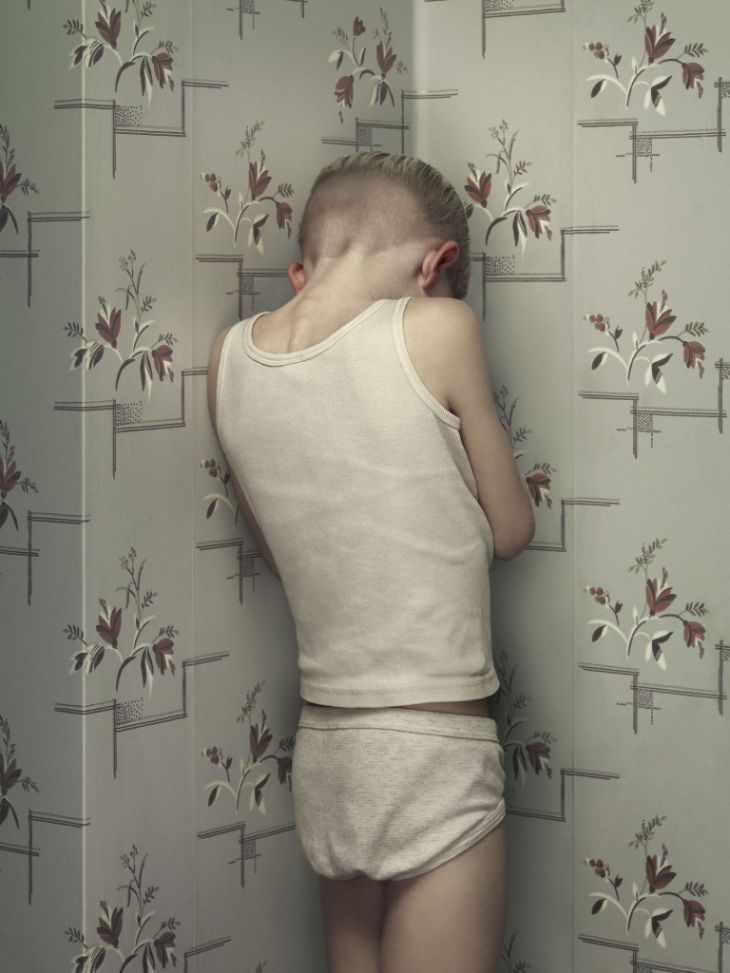 "Erwin Olaf TheKeyhole#7 2011 ""Shame is the lie someone told you about yourself."" -ANAIS NIN"