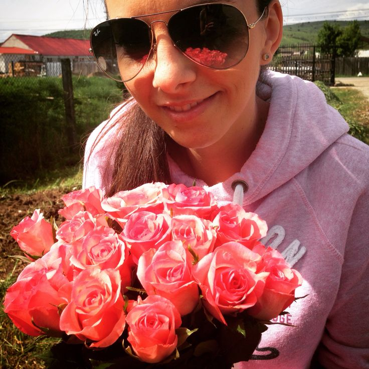 Roses #roses #pink #flowers #spring #mountain