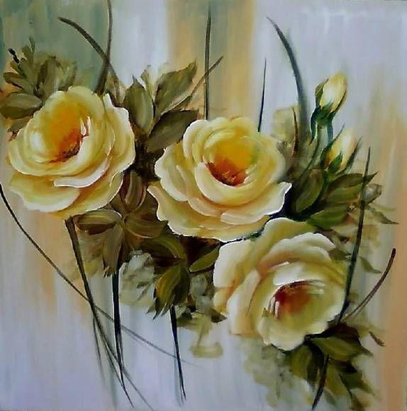 Imagens de pintura abstrata em tela