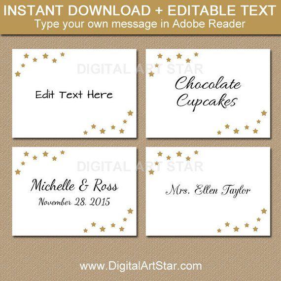 Editable Wedding Labels Printable Christmas Food Labels Elegant Christmas Labels Elegant Brida Christmas Food Labels Food Labels Printable Wedding Labels