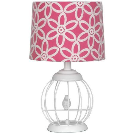 Best 25 pink lamp shade ideas on pinterest shabby chic with your zone bird cage lamp with floral pink and white shade walmart aloadofball Image collections