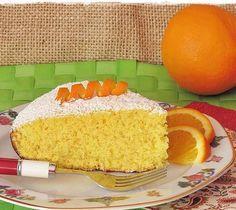 Portakallı Tava Keki
