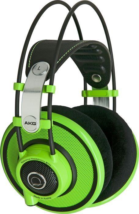 AKG Quincy jones q701 vert semi ouvert - Casques semi ouverts - Semi ouverts Pro   Woodbrass.com