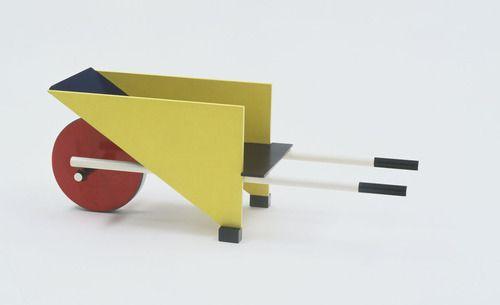 Child's Wheelbarrow by Gerrit Rietveld
