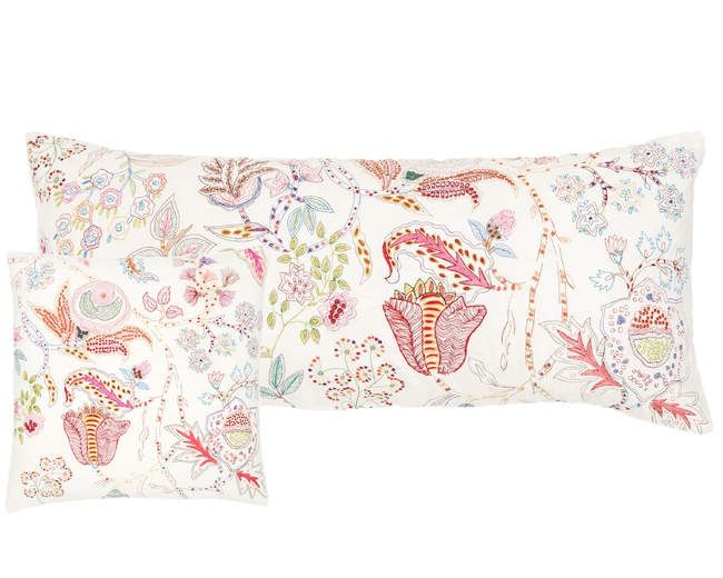Pine Cone Hill Mirabelle Embroidered Decorative Pillow Free Shipping Returns