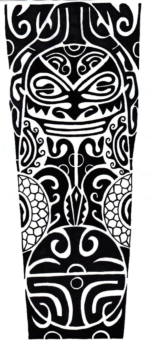 Polynesian Designs And Patterns | Polynesian Tattoo by ~CrimsonKanji on deviantART