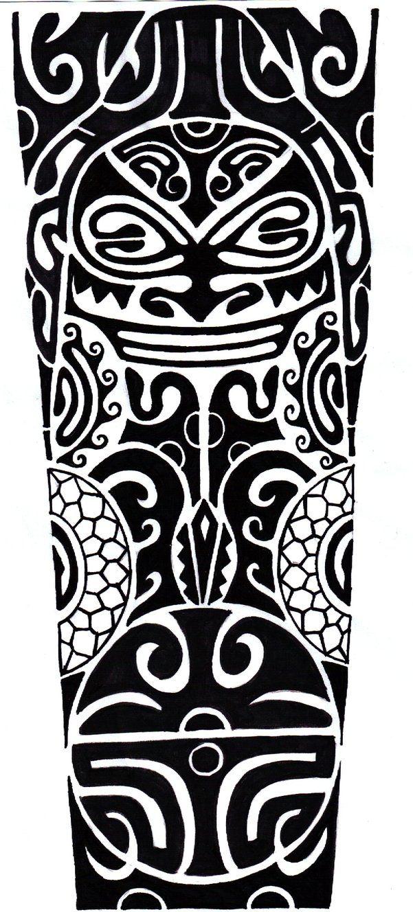 Polynesian Designs And Patterns | Polynesian Tattoo by ~CrimsonKanji on deviantART