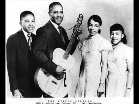 today: Uncloudy Day - The Staple Singers (1956)