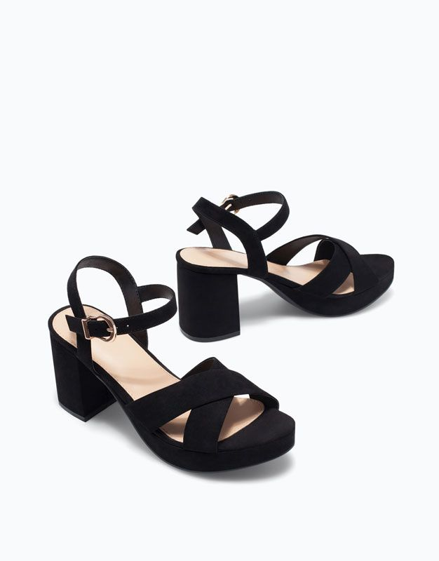 SANDALIA TACON MEDIO - Zapatos - Woman - | Lefties España