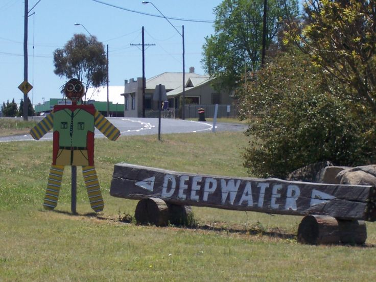 Deepwater NSW - famous for it's annual Scarecrow & Wool Festival held first weekend in November - welcome