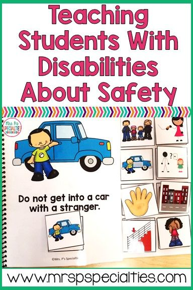 Teaching students with disabilities about safety is crucial but can be too abstract for students. Here are some tips on how to breakdown and teach these crucial life skills.