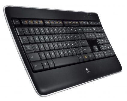 49€ - Clavier Logitech Wireless Illuminated Keyboard K800 (Config-Gamer)