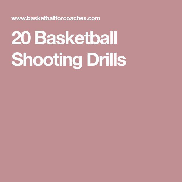 20 Basketball Shooting Drills