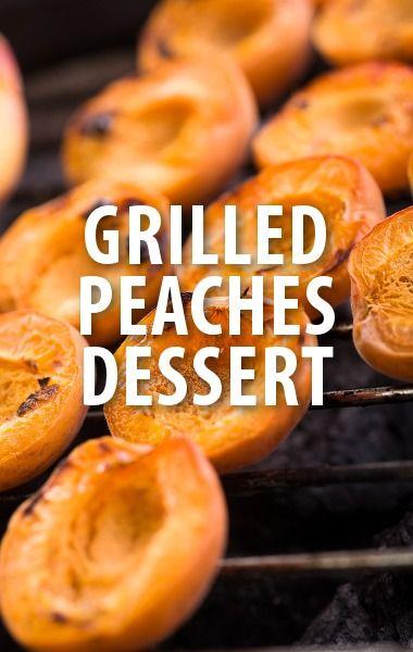 Guas shared his dessert idea for a Grilled Peaches & Mascarpone Cream ...