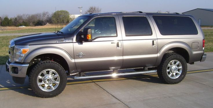 Used 2004 Ford Excursion 2015 Full Platinum Conversion For