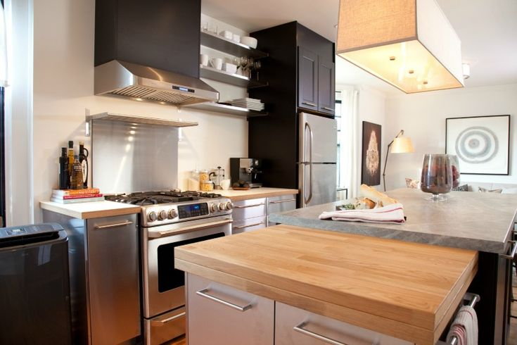 Mix and match kitchen materials