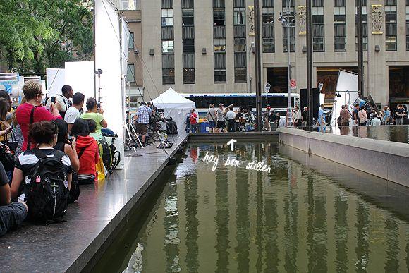 Ben Stiller filming Walter Mitty nyc newyork New york