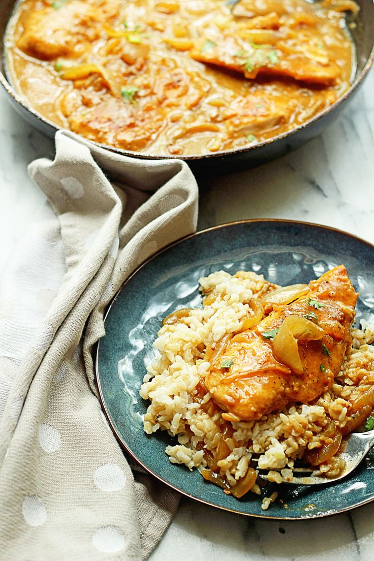 Southern Smothered Chicken | Grandbaby Cakes