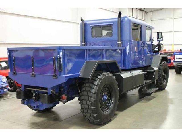 $120 000 Restoration CUSTOMIZATION Dump Bed Custom Crew Cab 4 Door Am General | eBay