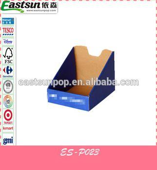 WM Flexo Color Printing PDQ Box for retail shop