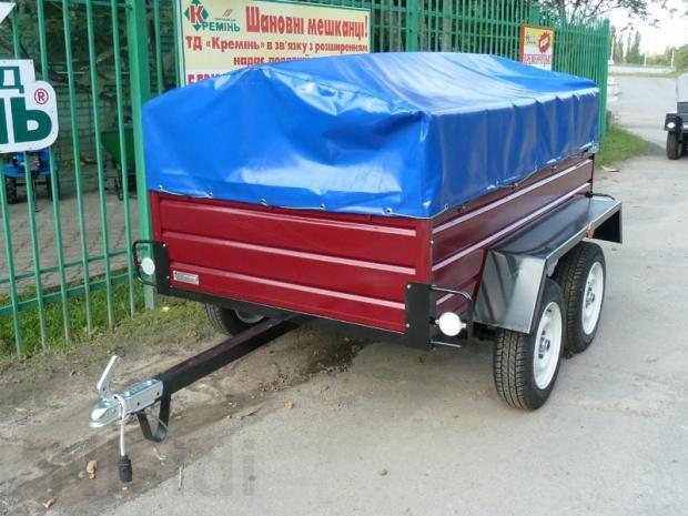 Продам новый легковой прицеп ЛЕВ - 50 грузовой 2-х осный. - Изображение 1