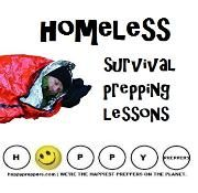 Homeless survival prepping lessons