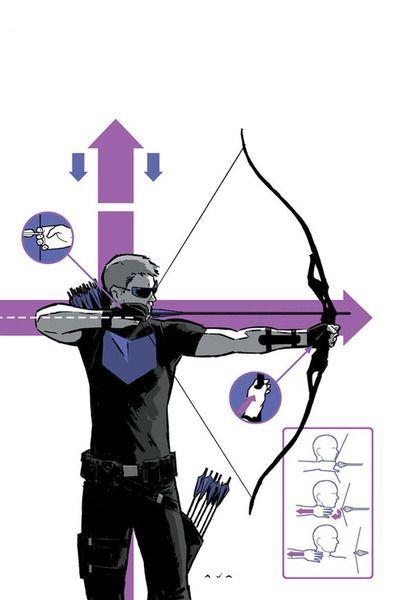 Archery, Occhio di falco and Ancore on Pinterest