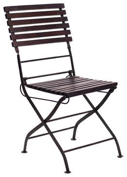 Carmen Folding Chair - industrial - Outdoor Folding Chairs - CRASH Industrial Supply