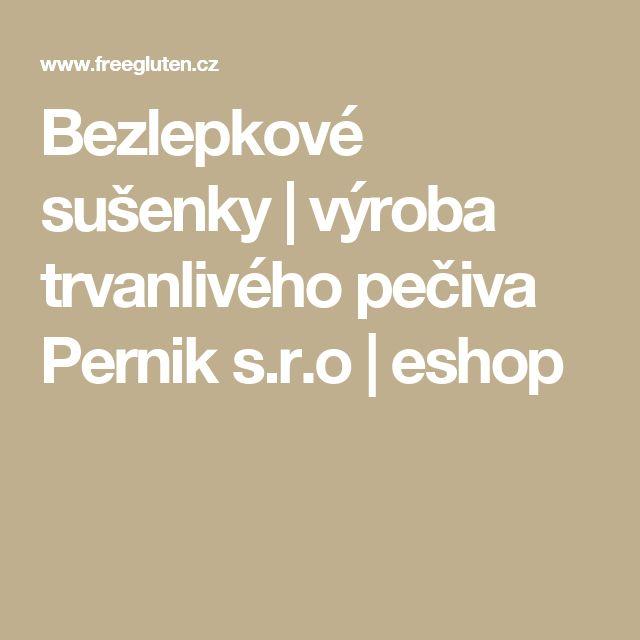 Bezlepkové sušenky | výroba trvanlivého pečiva Pernik s.r.o | eshop