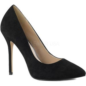 For the Gianvito Rossi Black Suede Pumps