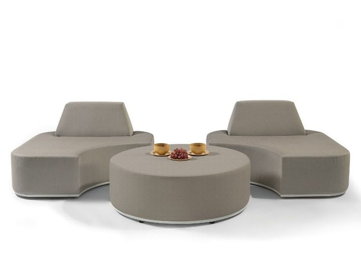 Sectional Garden Sofa With Removable Cover MOON ISLAND By MANUTTI Design  Gerd Couckhuyt