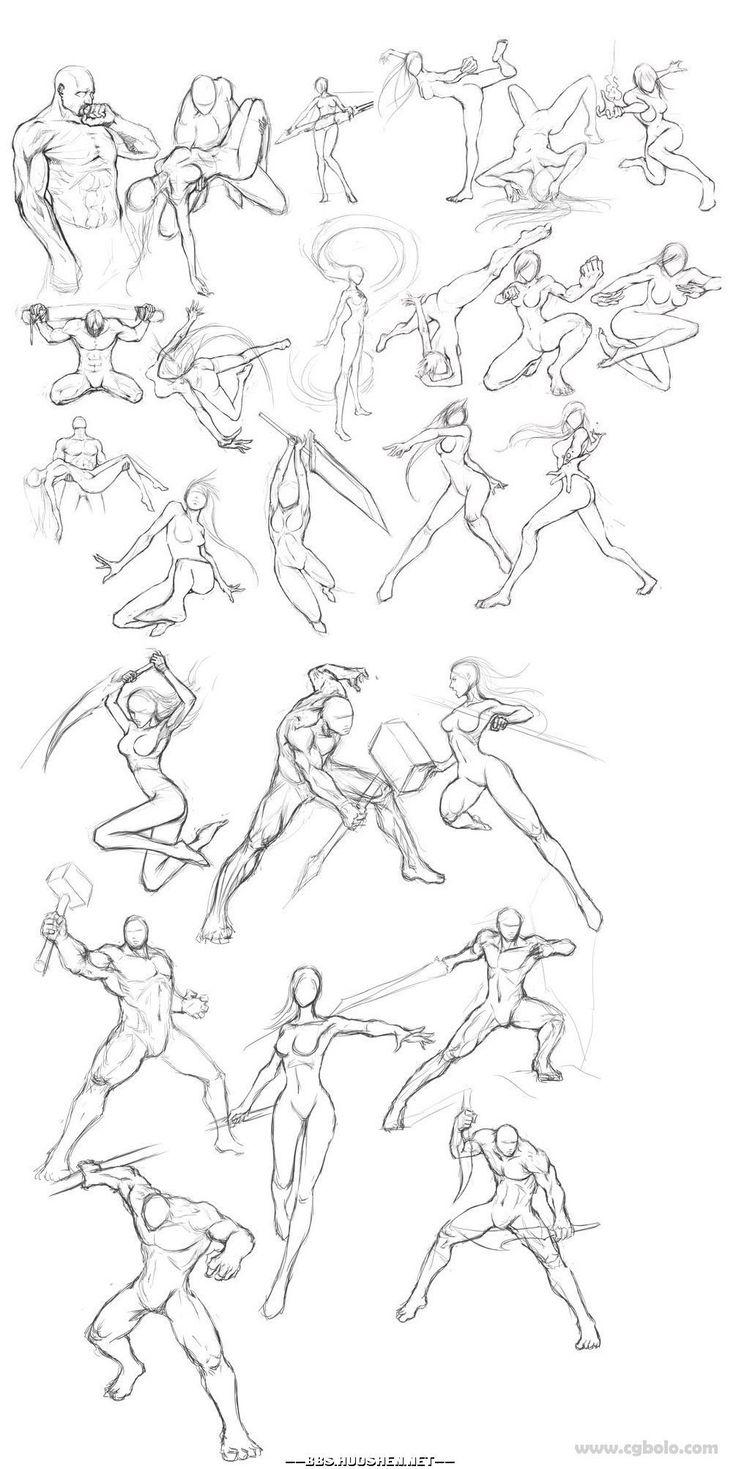 Body Kun & Body Chan – Figurines Manga pour artistes
