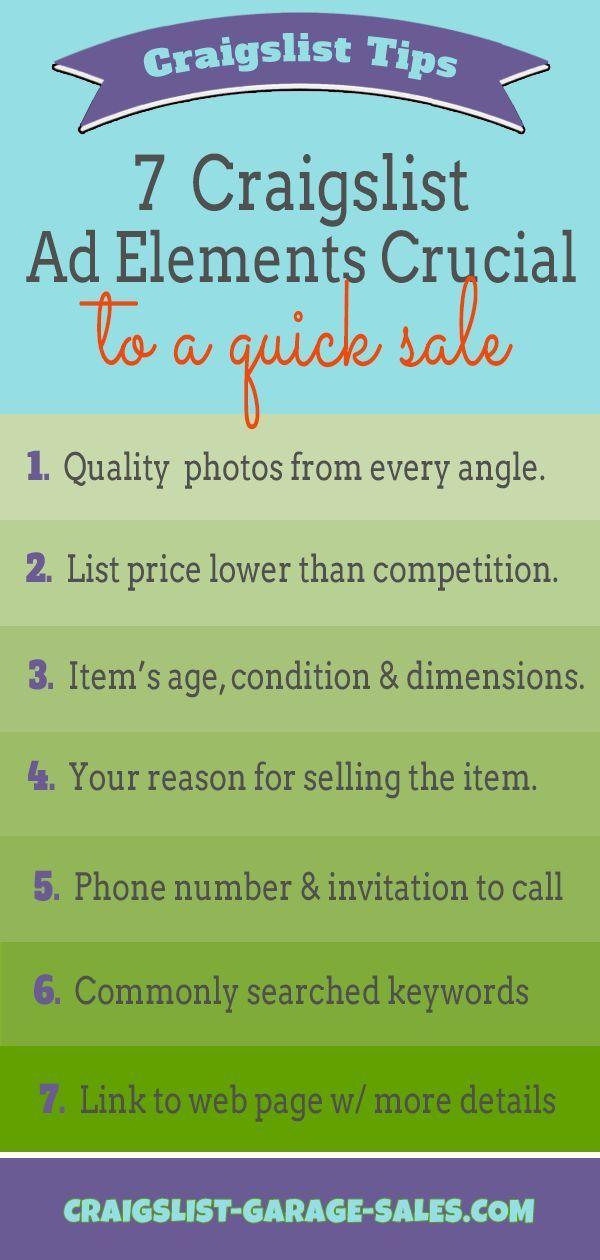 Okc Craigslist Garage Sales Tips N Tools Oklahoma City Garage Sale Tips Garage Sales Things To Sell