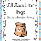 Great Getting To Know You Activity! Send the bags home with the children on the first day of school.  As the bags come in, place them in a ...