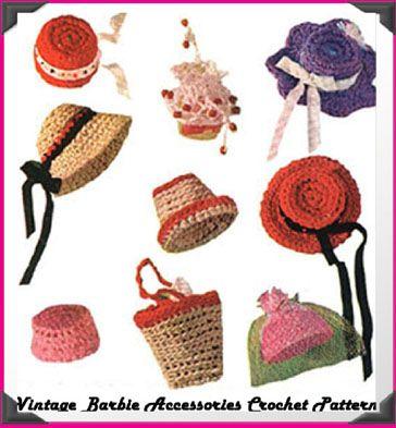 FASHION DOLL APRON Crochet Pattern - Free Crochet Pattern
