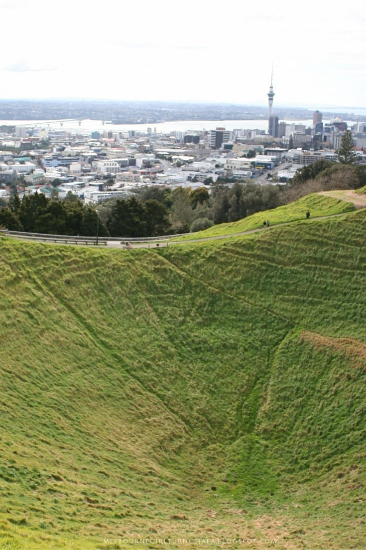 The city view from the Mt Eden Lookout. One of 10 things you can do when you've got 24 hours to spend in Auckland