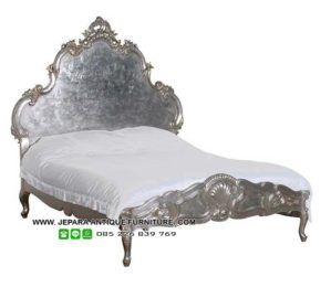 Tempat tidur mewah model tifany cat duco, model tempat tidur tiffany minimalis