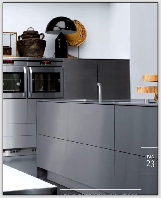 cuisine inox projet noir amp blanc pinterest cuisine