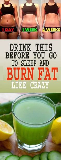 Drinking This Before Going to Bed Burns Belly Fat Like Crazy – 18aims