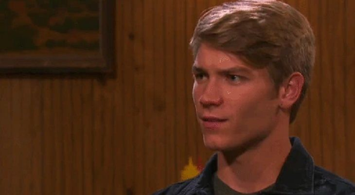 On Days of Our Lives, Tripp's (Lucas Adams) misguided revenge plot is about to come to a dramatic conclusion. Will it also be a fatal one? Tripp came to town after his biological dad Patch (Steve Nichols) discovered he had a son and later found him working in a cheesy diner. His deceased mom Ava (T