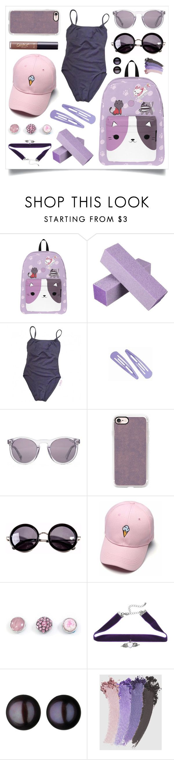 """One last relax"" by racanoki ❤ liked on Polyvore featuring Eres, HOOK LDN, Casetify, Linda Farrow, Links of London, Gucci, tarte and RaCaNoKi"