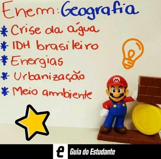 Enem: Geografia