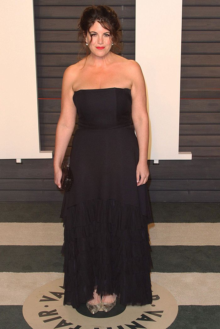 Моника Левински пришла на «оскаровскую» вечеринку в сексуальном платье Фото: SPLASH NEWS