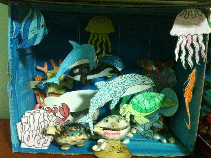 Sea Diorama:)