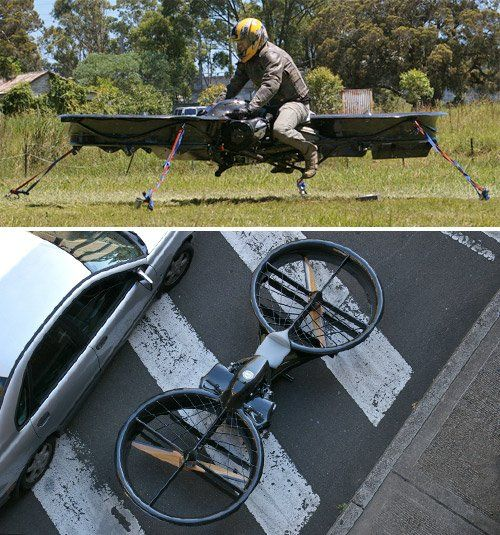 Hoverbike soon to become a reality | Ubergizmo