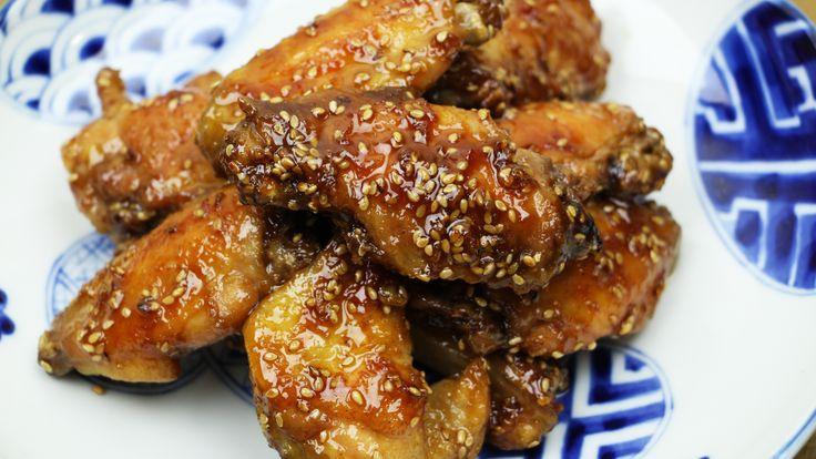 Baked Sesame Chicken Wings