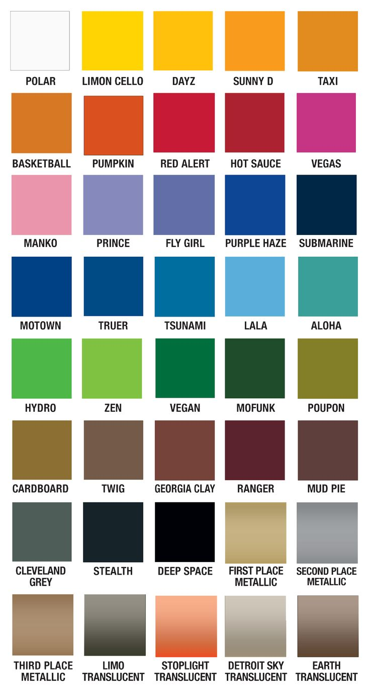 Best 25 Paint Color Chart Ideas On Pinterest Paint Colour Charts Colour Names List And Color