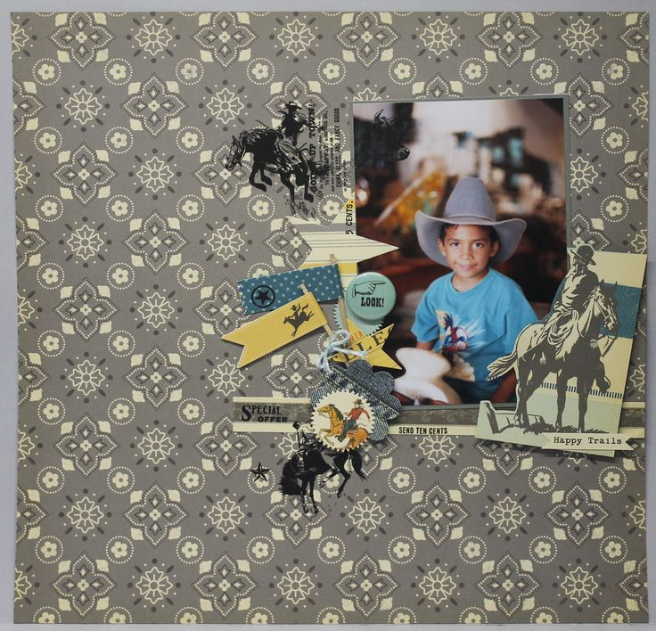 HAPPY TRAILS by @nannysrodriguez Sasparrilla collection, by @oct_afternoon #sasparrilla #octoberafternoon #scrapbook #scrapbooking #layout