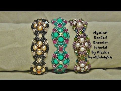 Mystical Beaded Bracelet Tutorial - YouTube