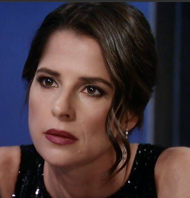Kelly Monaco as Sam Morgan General Hospital Always Beautiful New Year Eve 2016